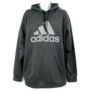 Adidas Men's XLT L/S Bos Grid Ti Hooded Sweatshirt